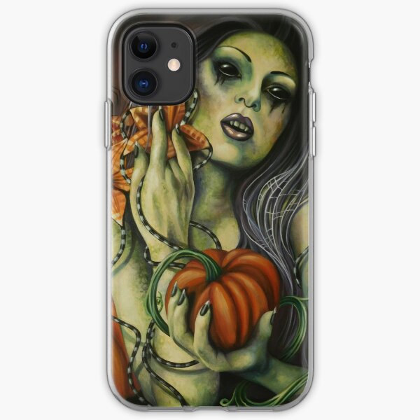Halloween Baby by Ardent Shadows iPhone Soft Case