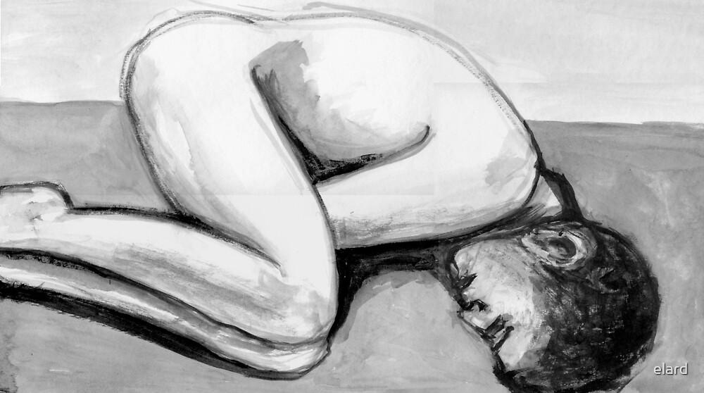 Curled up by elard