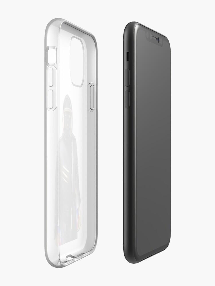 coque iphone 8 plus orange - Coque iPhone «Peut masquer le masque de ski», par Macauleycolee