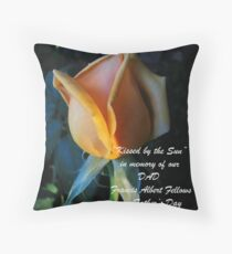 """""""Kissed by the Sun"""" Throw Pillow"""