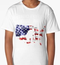 I STAND FOR THE NATIONAL ANTHEM FOR THOSE THAT CAN'T  HONOR VETERAN DAY SHIRTS Long T-Shirt