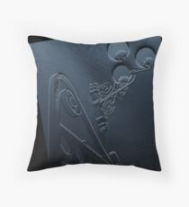 VH bas relief Throw Pillow