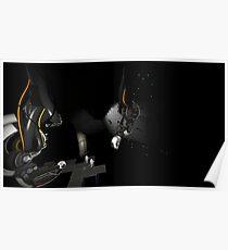 GLaDOS VS Wheatley [Portal 2] Poster