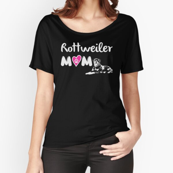 Rottweiler mom Relaxed Fit T-Shirt