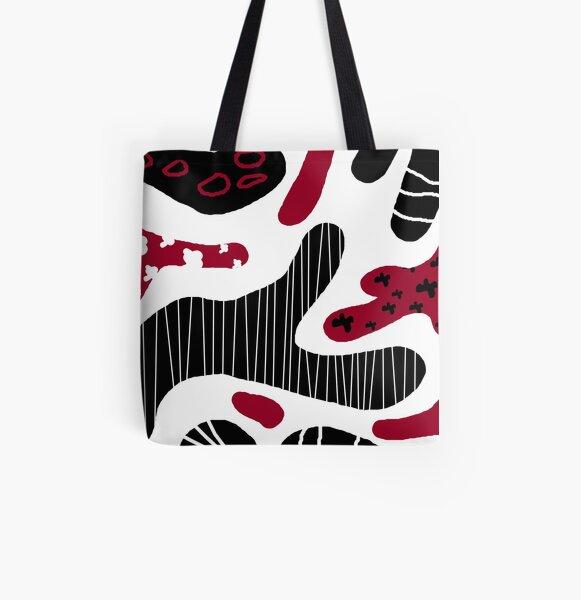Meditterean pattern Allover-Print Tote Bag