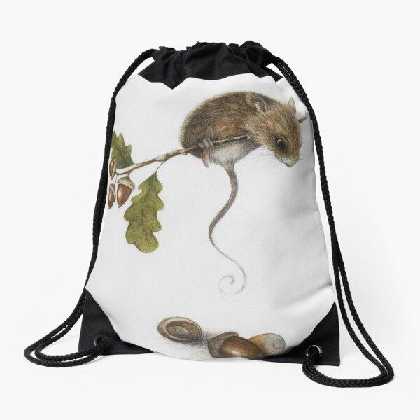 Ratón y bellotas  Mochila saco