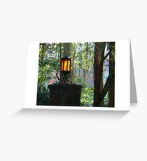 Gate Light Greeting Card