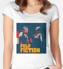 Pulp Fiction Hope Style Women's Fitted Scoop T-Shirt