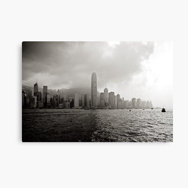 Hong Kong Bay (Cropped) Canvas Print