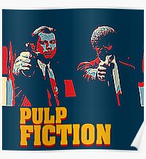 Pulp Fiction Hope Style Poster