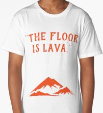 The Floor is Lava - Everyone Pompeii, 79 A.D. Funny History  Long T-Shirt