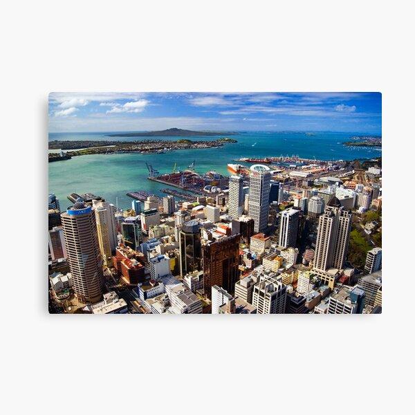 Waitemata Harbour, Auckland Canvas Print