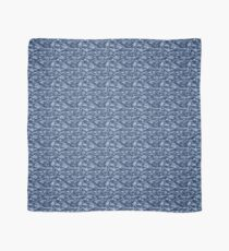 Blue Camouflage Scarf