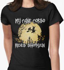 Halloween Cane Corso Costume My Cane Corso Rides Shotgun Tee T-Shirt