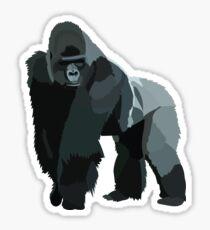 Silverback Gorilla Sticker