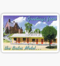 the bates motel PSYCHO Sticker