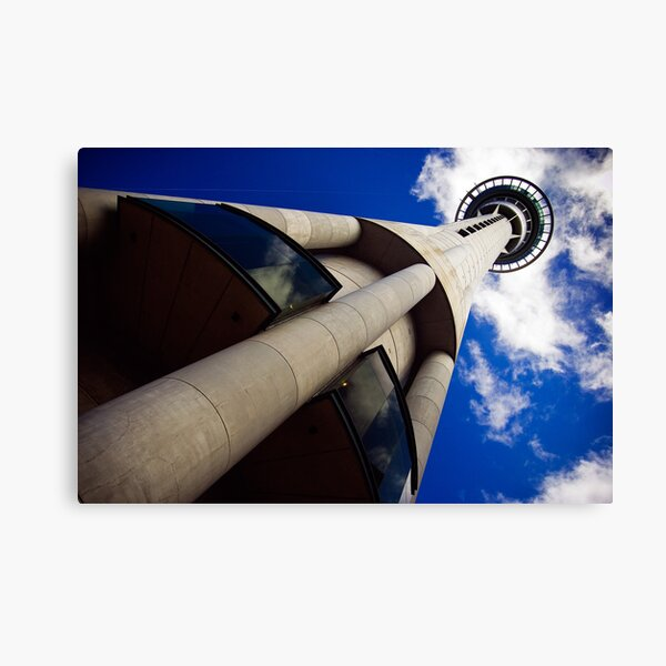 Auckland Sky Tower Canvas Print