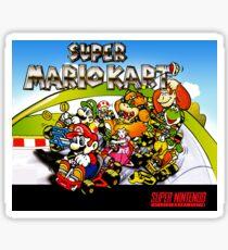 Super Mario Kart Poster - Vintage Restoration Sticker