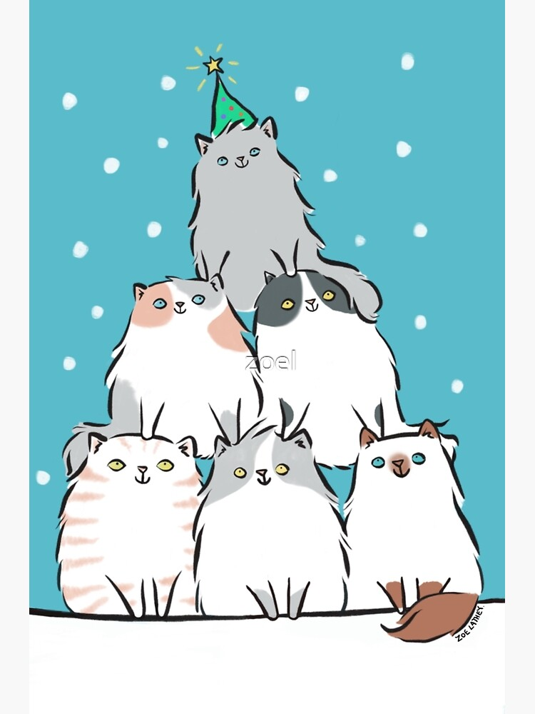 Kitty Cat Christmas Tree by zoel