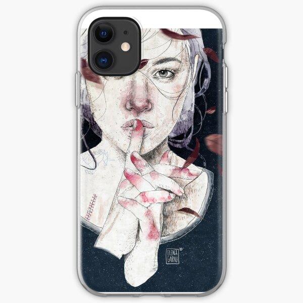 MIRROR by Elenagarnu iPhone Soft Case