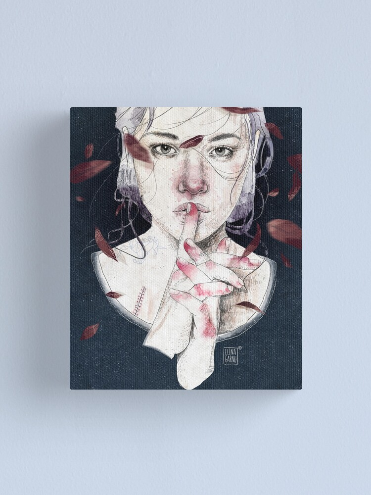 Alternate view of MIRROR by Elenagarnu Canvas Print