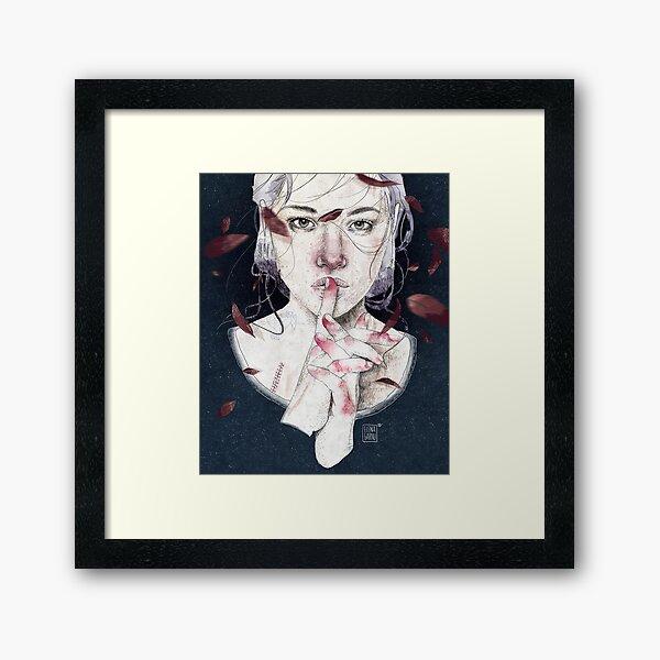 MIRROR by Elenagarnu Framed Art Print
