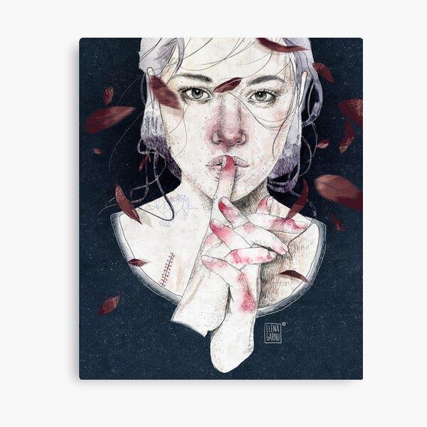 MIRROR by Elenagarnu Canvas Print