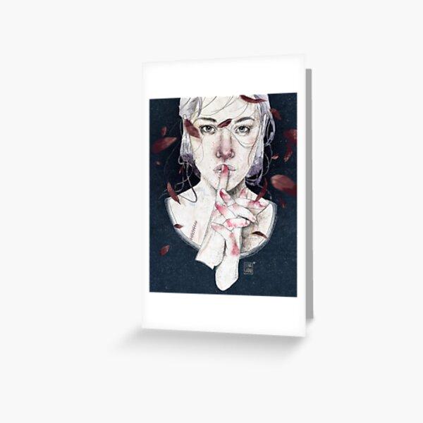 MIRROR by Elenagarnu Greeting Card