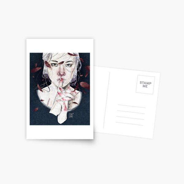 MIRROR by Elenagarnu Postcard