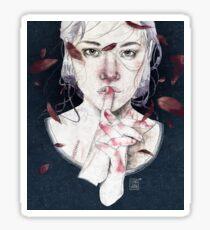 MIRROR by Elenagarnu Sticker