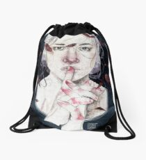MIRROR by Elenagarnu Drawstring Bag