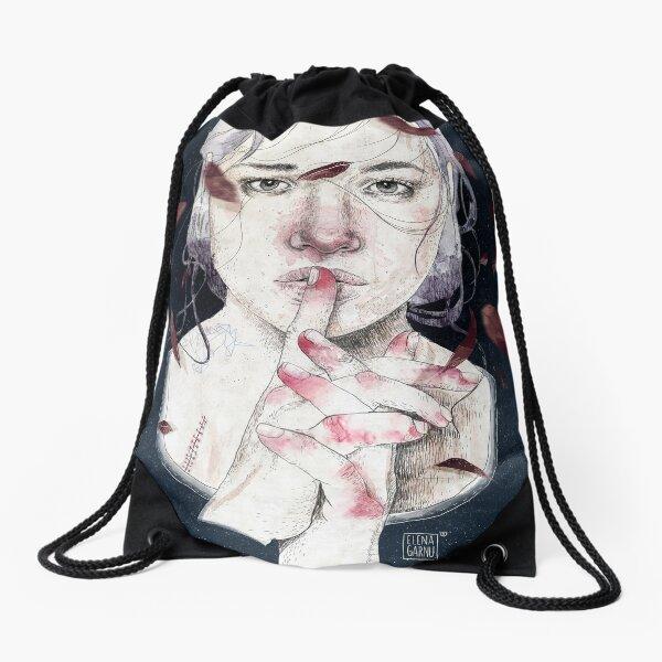 MIRROR by Elenagarnu Drawstring Bag