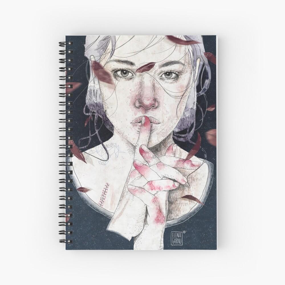 MIRROR by Elenagarnu Cuaderno de espiral