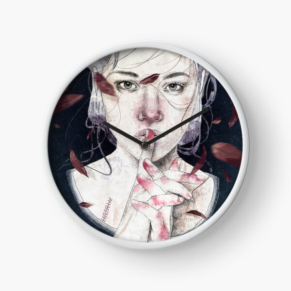 MIRROR by Elenagarnu Clock