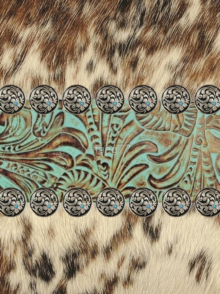 Rustic brown beige teal western country cowboy fashion by lfang77