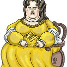 Queen Anne of England by MacKaycartoons