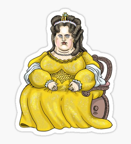 Queen Anne of England Sticker