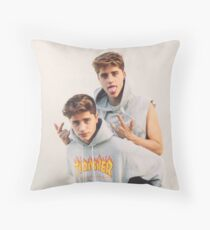 Martinez Twins Merch Throw Pillow