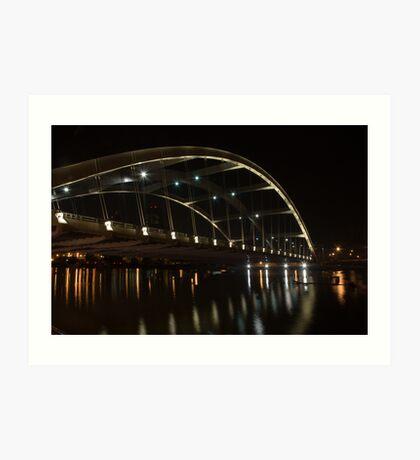 Frederick Douglass-Susan B. Anthony Memorial Bridge  Art Print