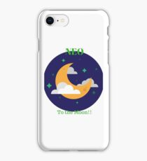 Neo is going to the Moon iPhone Case/Skin