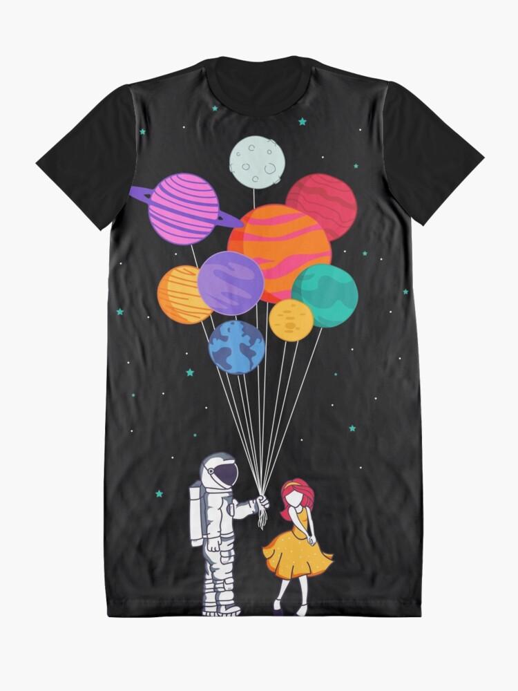 Alternative Ansicht von Für dich alles T-Shirt Kleid