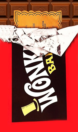 Wonka Bar Golden Ticket Poster Von Cynthiaowens Redbubble