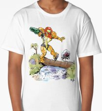 Samus and Metroid Long T-Shirt