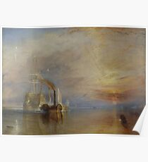 Joseph Mallord William Turner - A Scene on the English Coast - circa 1798 Poster