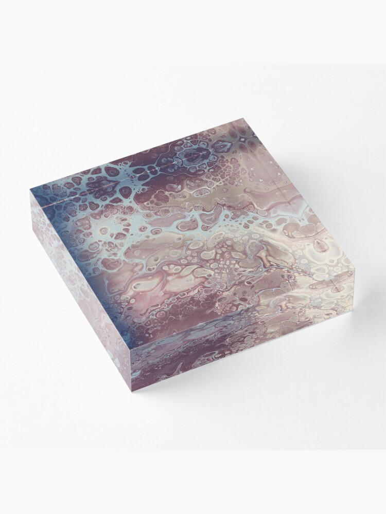 Alternate view of Autumn Breeze Acrylic Block