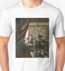 The Art of Painting by Jan Vermeer T-Shirt