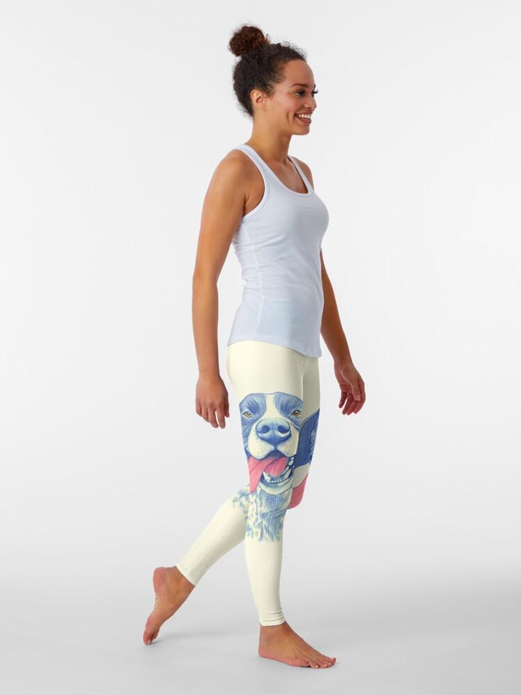 Alternate view of Jola #01 - German Short-Haired Pointer Leggings