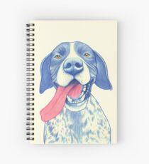Jola #01 - German Short-Haired Pointer Spiral Notebook