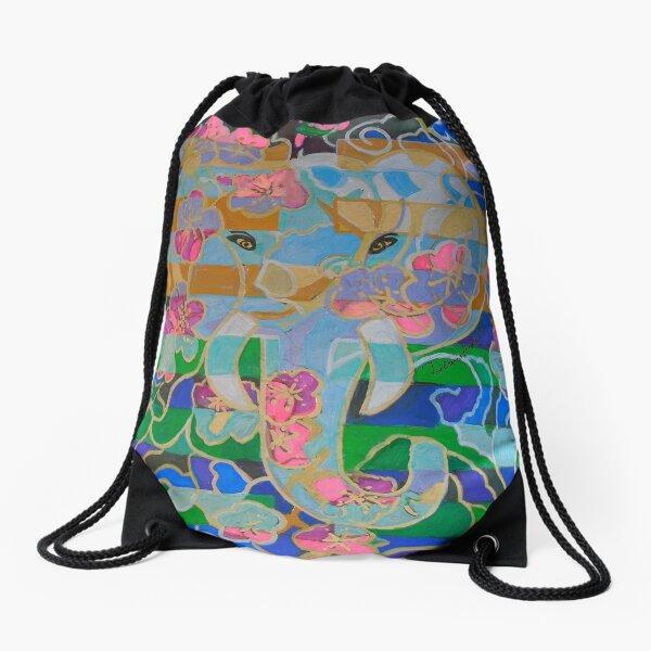 Hexagram 16: Yu (Enthusiasm) Drawstring Bag