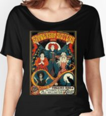 Sanderson Sisters Tour Poster T-Shirt Women's Relaxed Fit T-Shirt